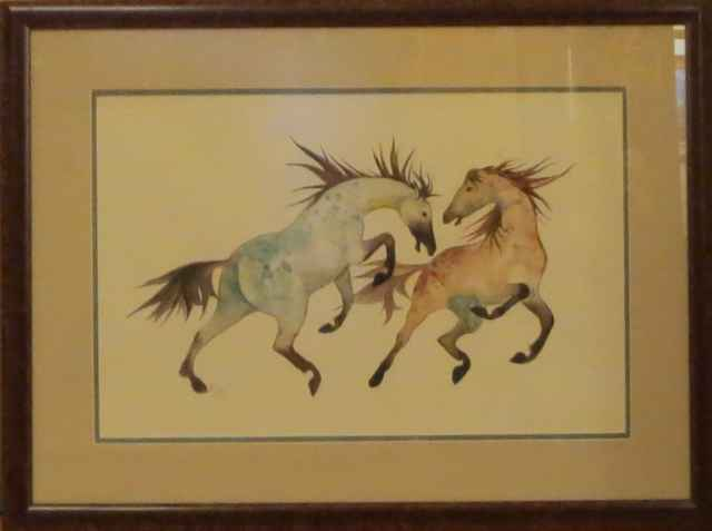 Two Horses by Mrs. Pat Hall - Masterpiece Online