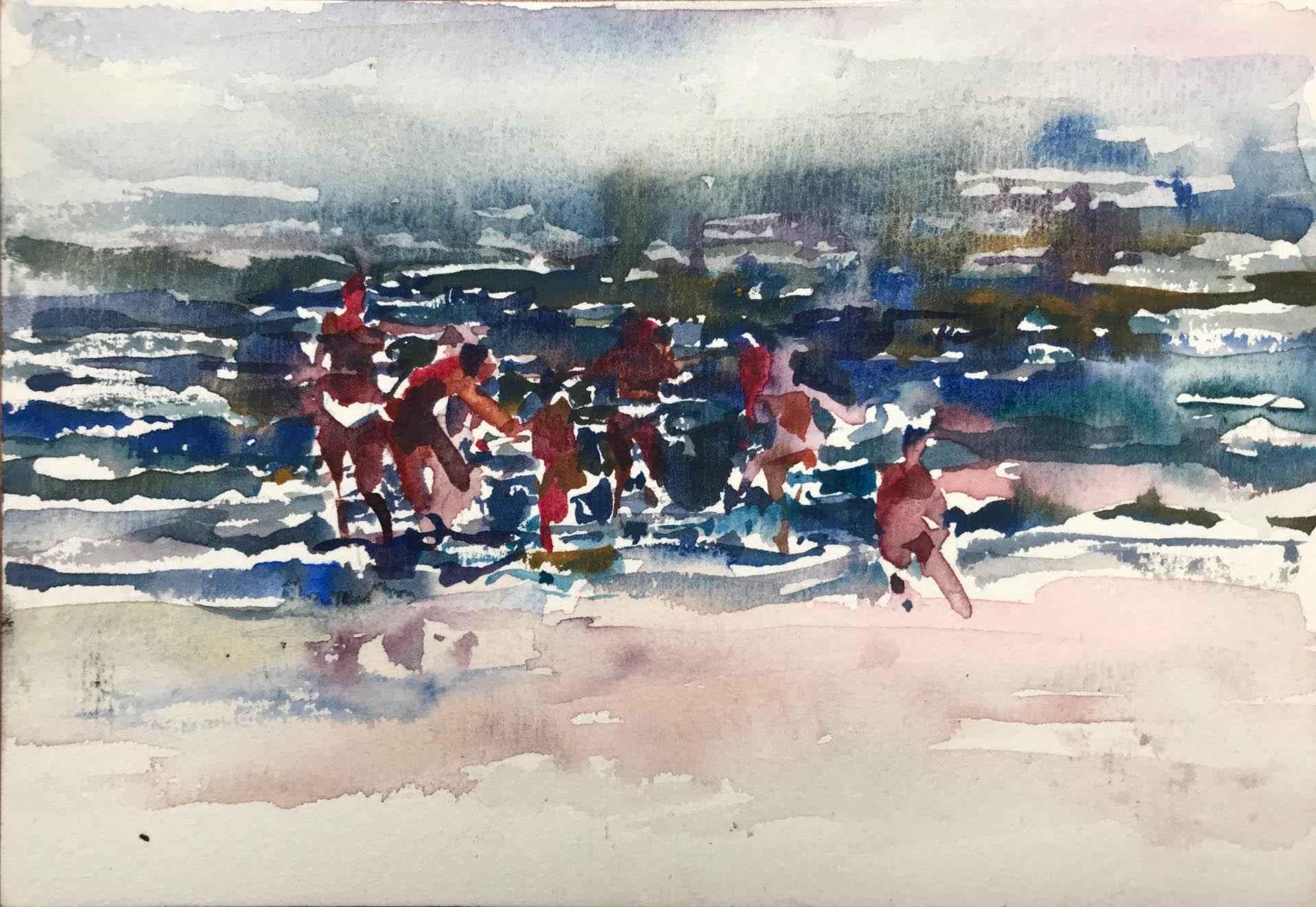 Beach Series VII by  Daud Akhriev - Masterpiece Online