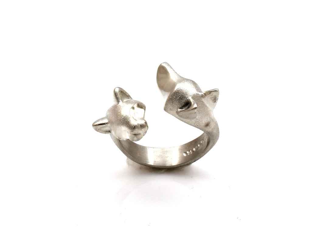 Cat/Dog Ring by  Michael Tatom - Masterpiece Online