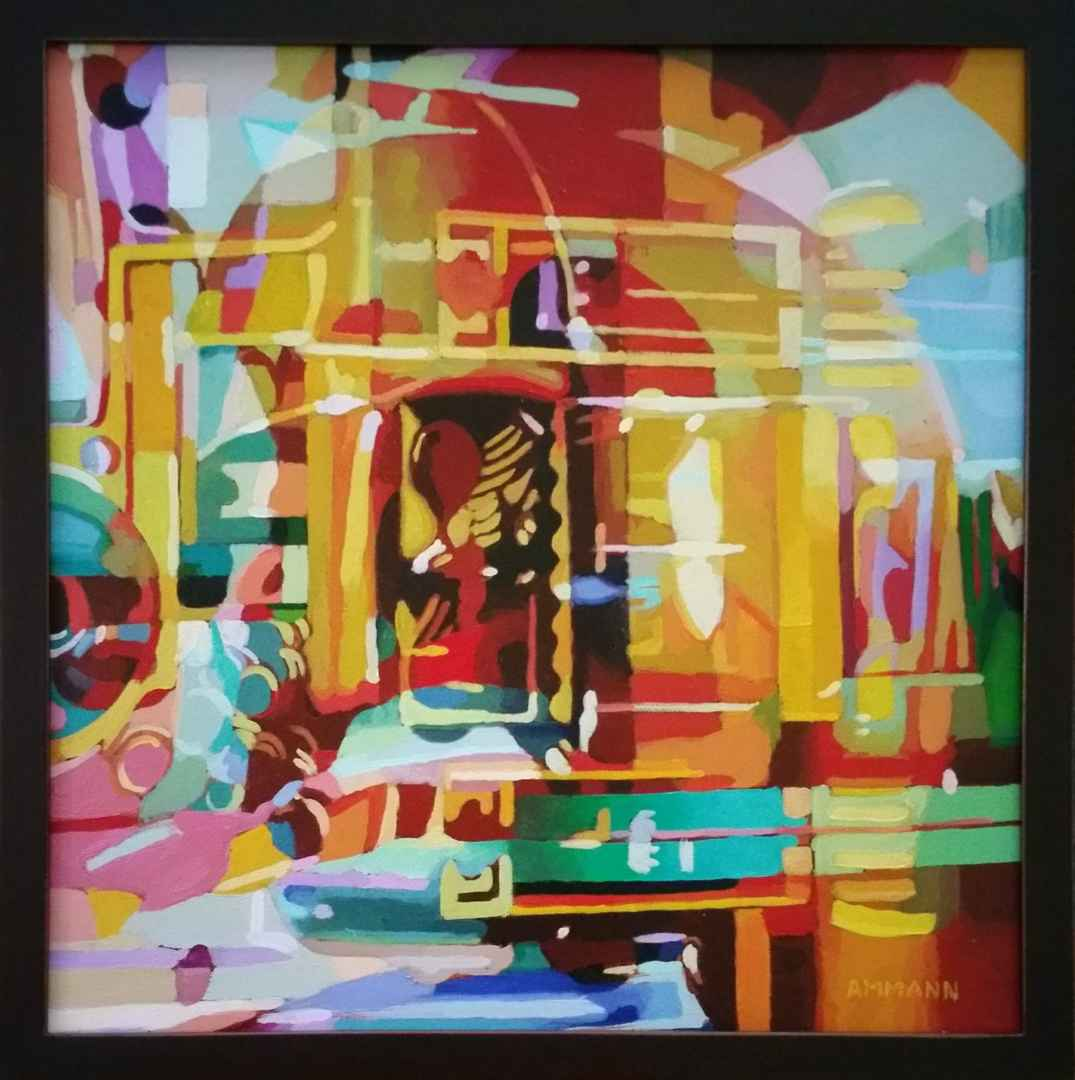 Temple I by  Alan Ammann - Masterpiece Online
