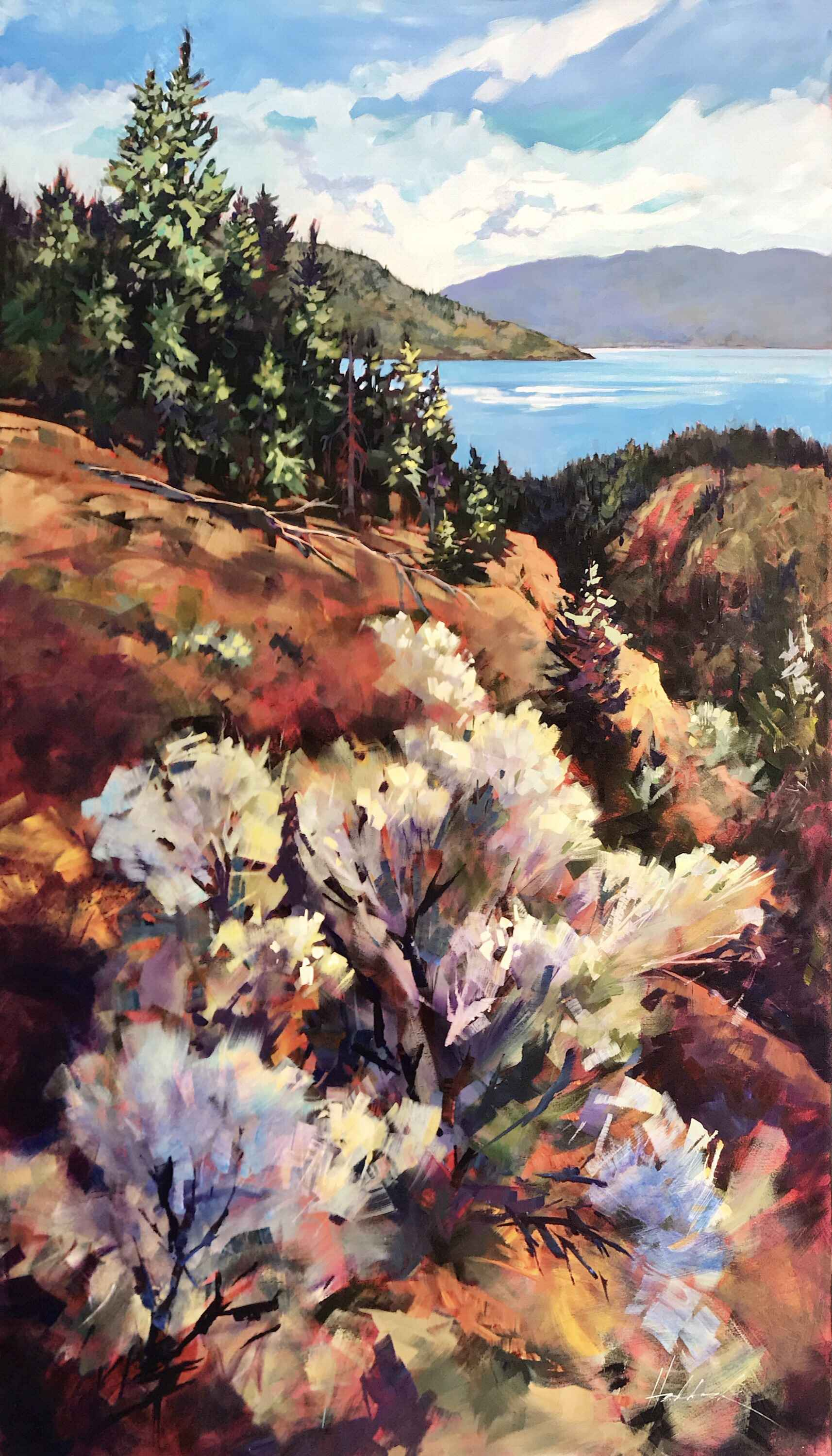 Sage Overlook by  Perry Haddock - Masterpiece Online