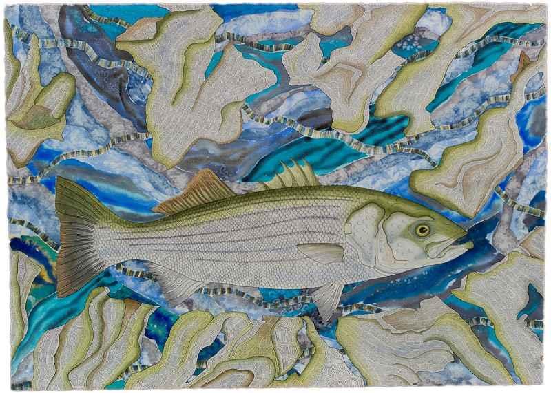 Striped Bass by  Preston McAdoo - Masterpiece Online