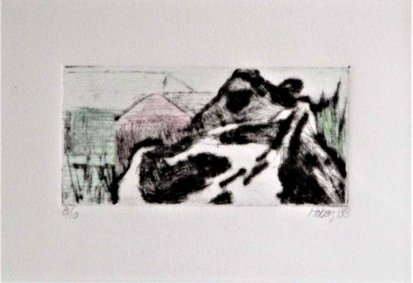 Unknown (cow) by  Jani Hoberg - Masterpiece Online