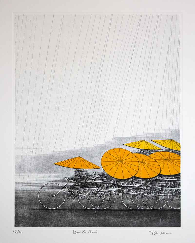 Western Rain by  Shigeki Kuroda - Masterpiece Online