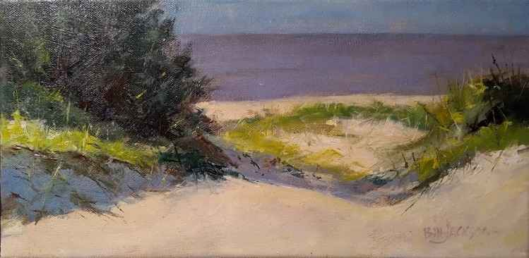 View to Ocracoke (stu... by  Bill Jackson - Masterpiece Online