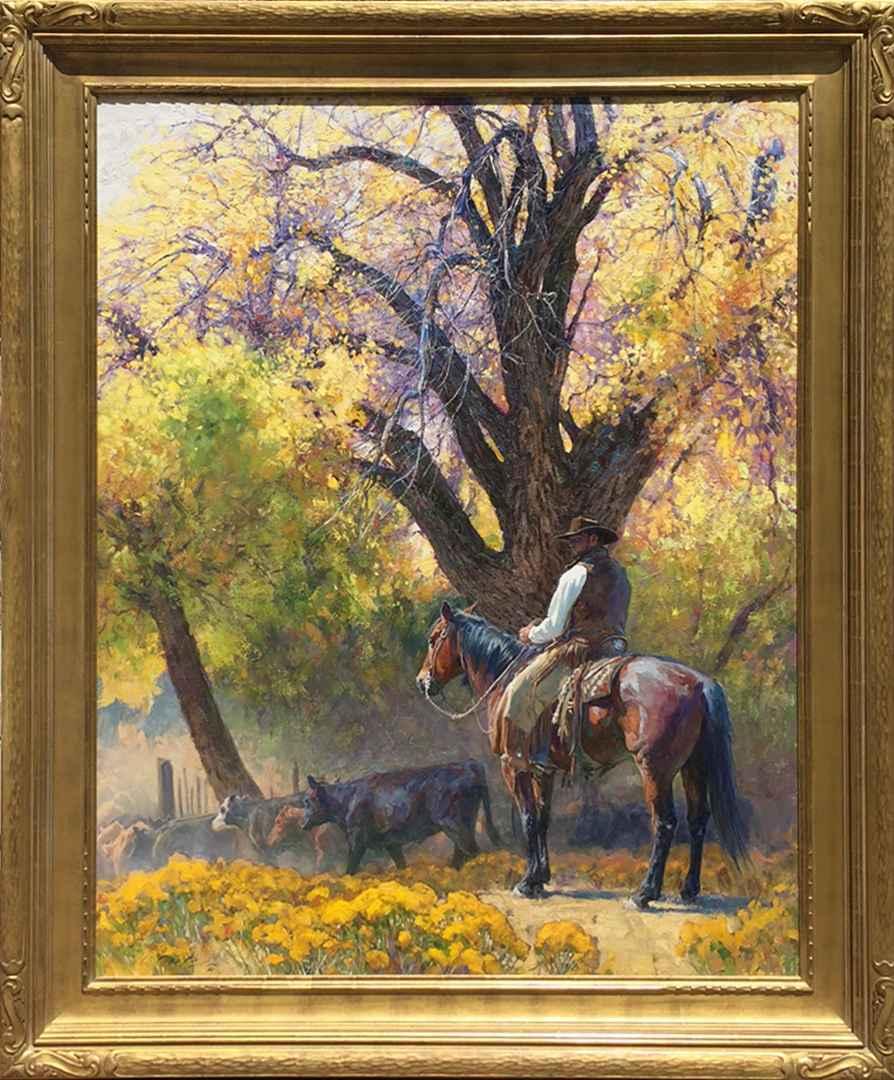 Cottonwood Corral by Mr. Loren Entz - Masterpiece Online