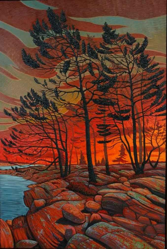 Winkler Bay Twilight by  Mark Berens - Masterpiece Online