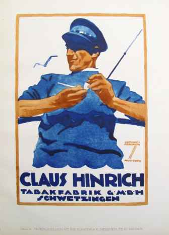 1926 Claus Hinrich Ta... by  Ludwig Hohlwein - Masterpiece Online