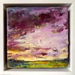 Aubergine Sky by  Kathy Bradshaw - Masterpiece Online