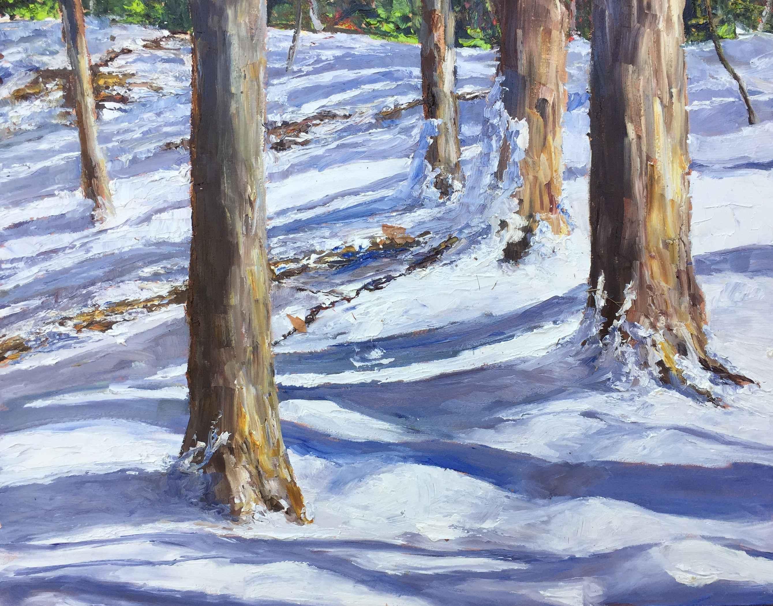 Winter Light by  Jamie MacLean - Masterpiece Online