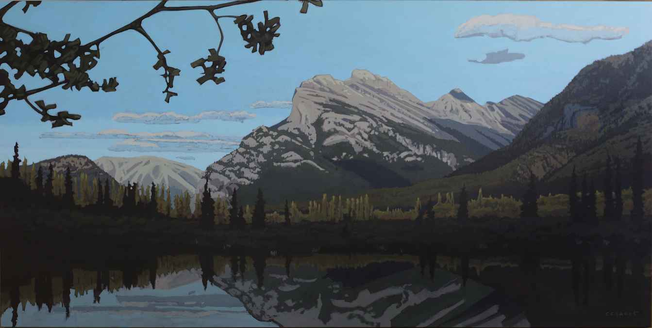 Mount Rundle From Sho... by  Christina Clarke - Masterpiece Online