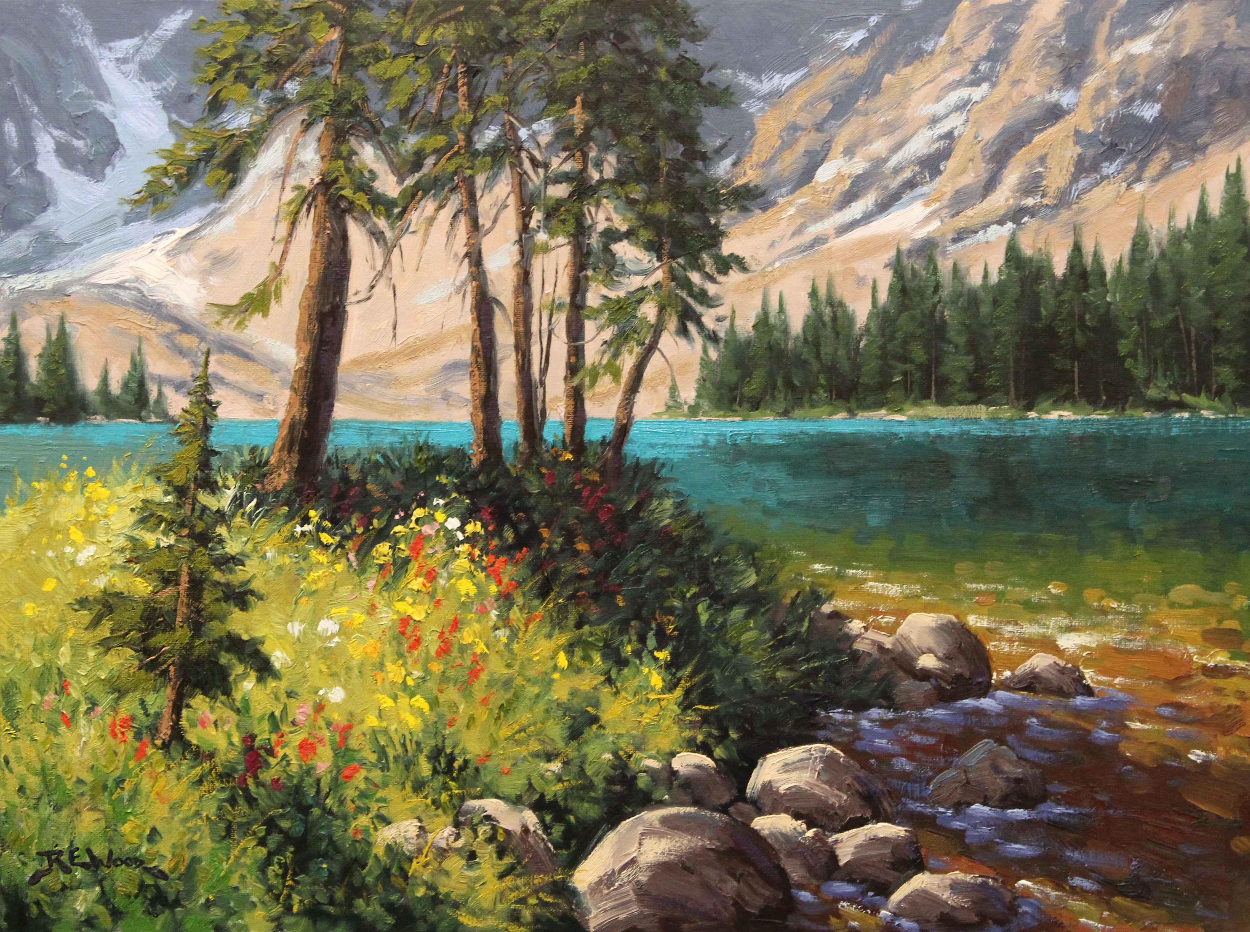 Summer Colour - Arnic...  by  Robert E. Wood