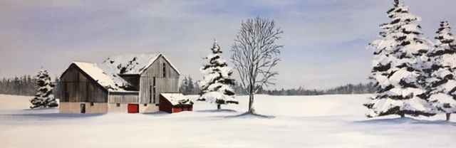 Bright Winter Day by  Janet Liesemer - Masterpiece Online