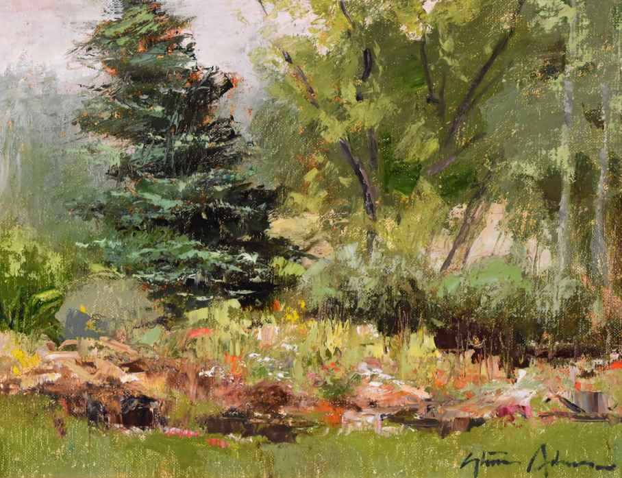 Ketchum Garden by  Steven Lee Adams - Masterpiece Online