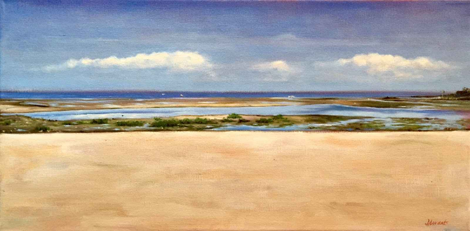 Compo Cove  by  Mary Morant