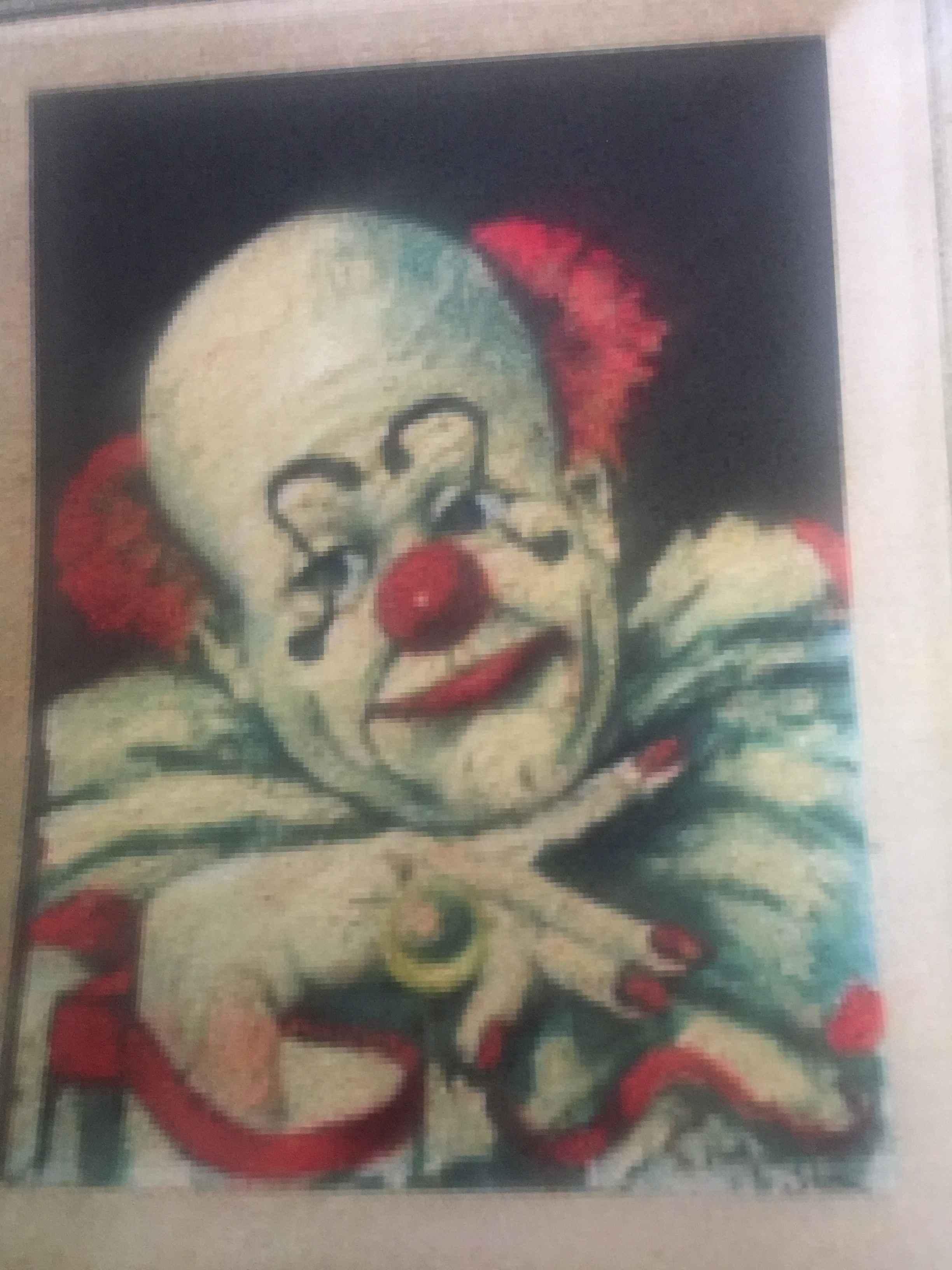 Clown (Bald) by  Red Skelton - Masterpiece Online