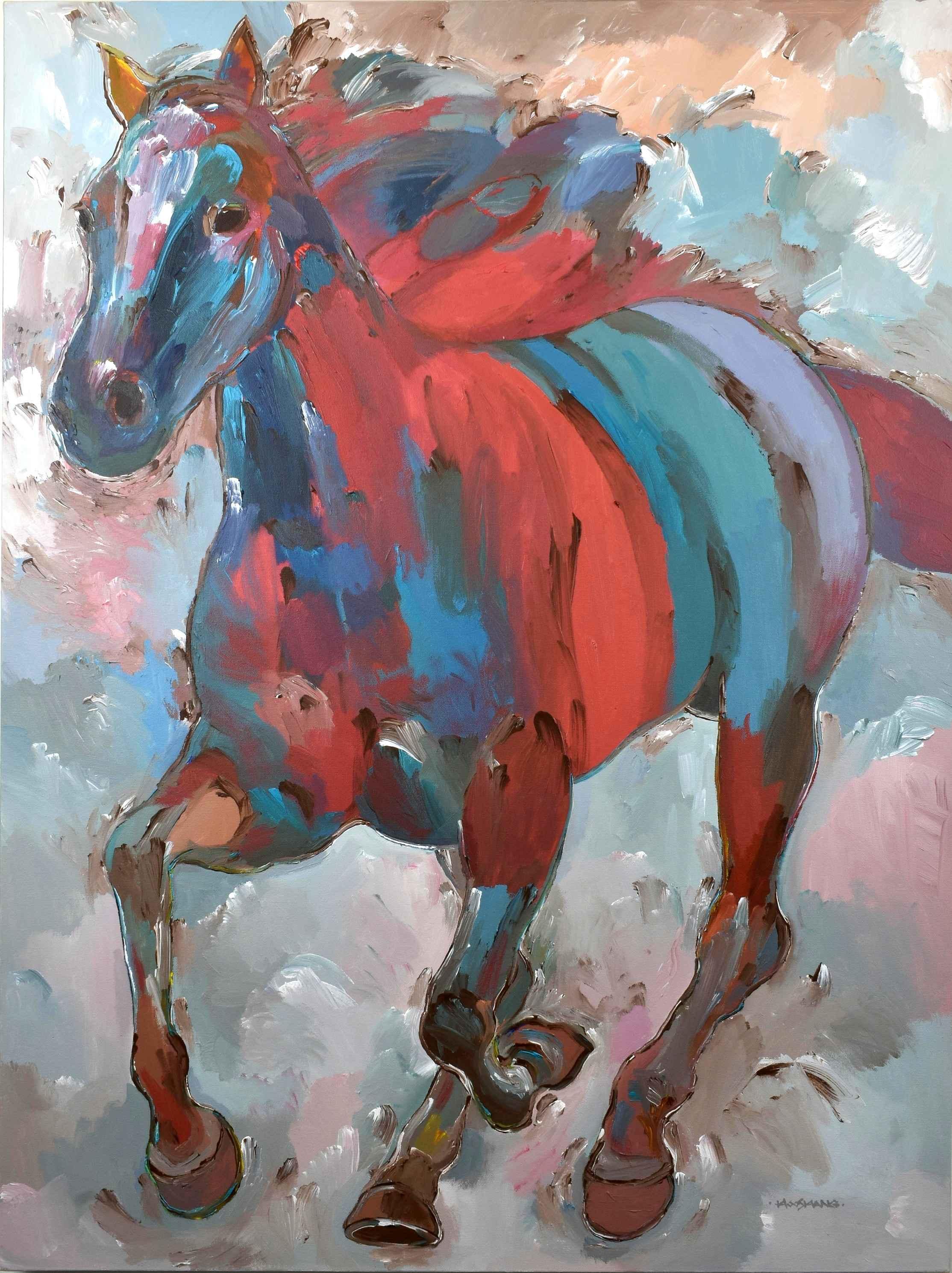 Spirit Runner by  Hooshang Khorasani - Masterpiece Online