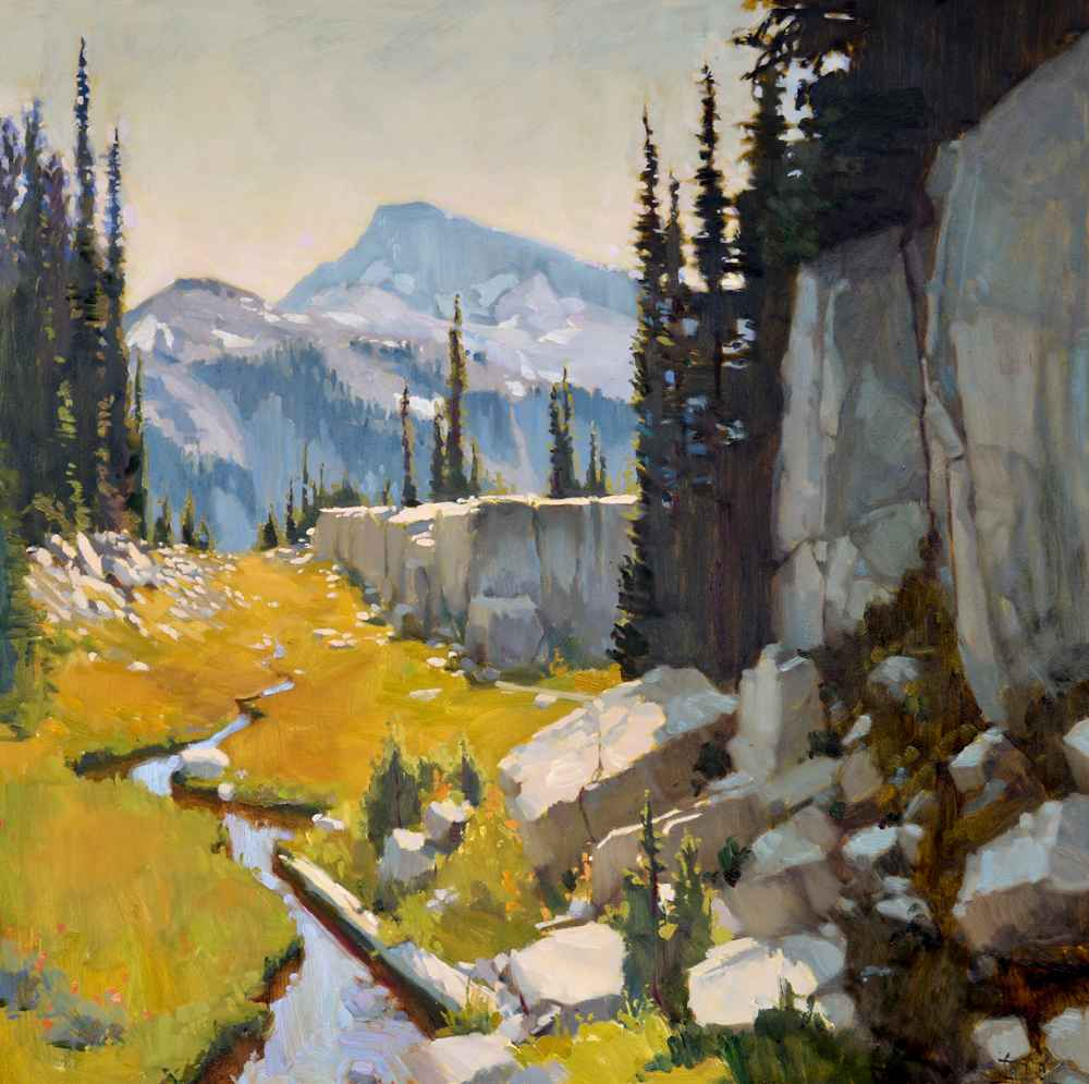 Meadow Divide  by  Jennifer Diehl