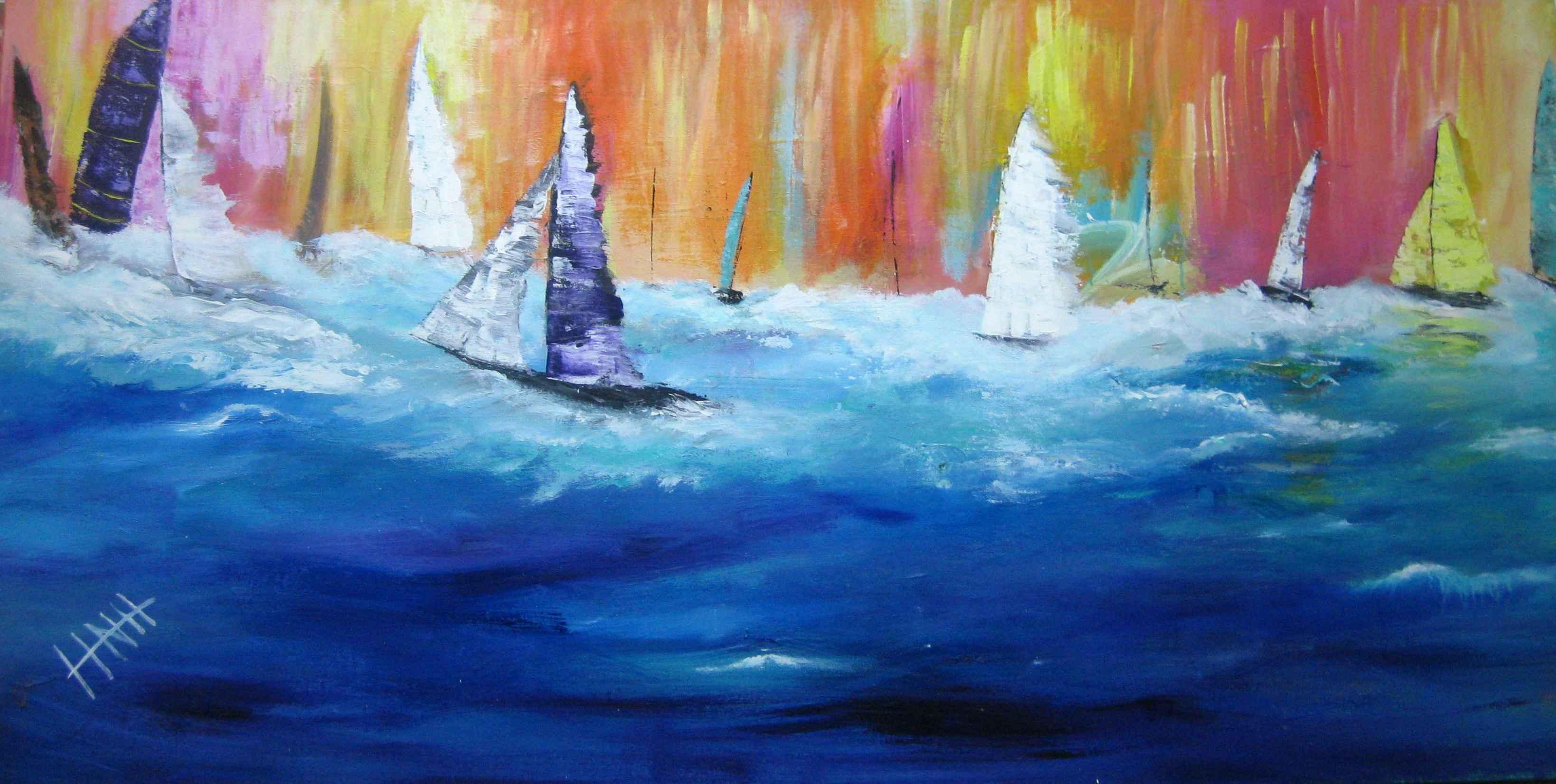 310 Sailing in Paradi... by Mr Nicholas Hadeed - Masterpiece Online