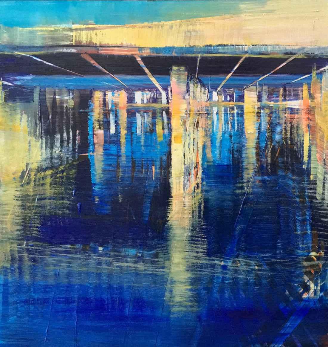 Bridges & Rivers by  David Dunlop - Masterpiece Online