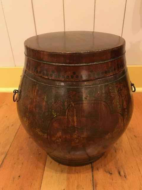 Lacquer Tea Barrel by  Unknown Unknown - Masterpiece Online