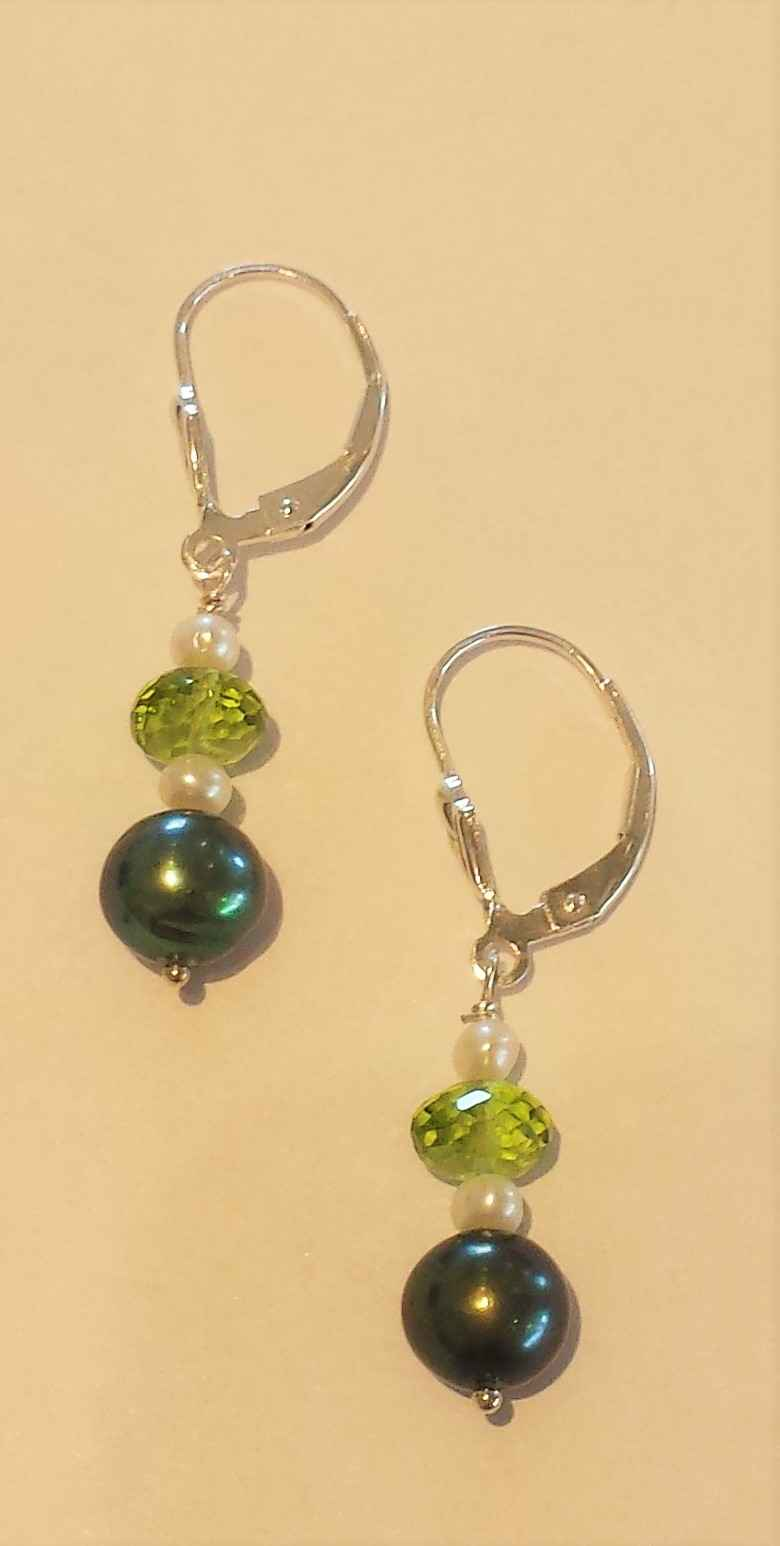 #42 Pearl and Peridot... by Ms. Catherine Laing - Masterpiece Online