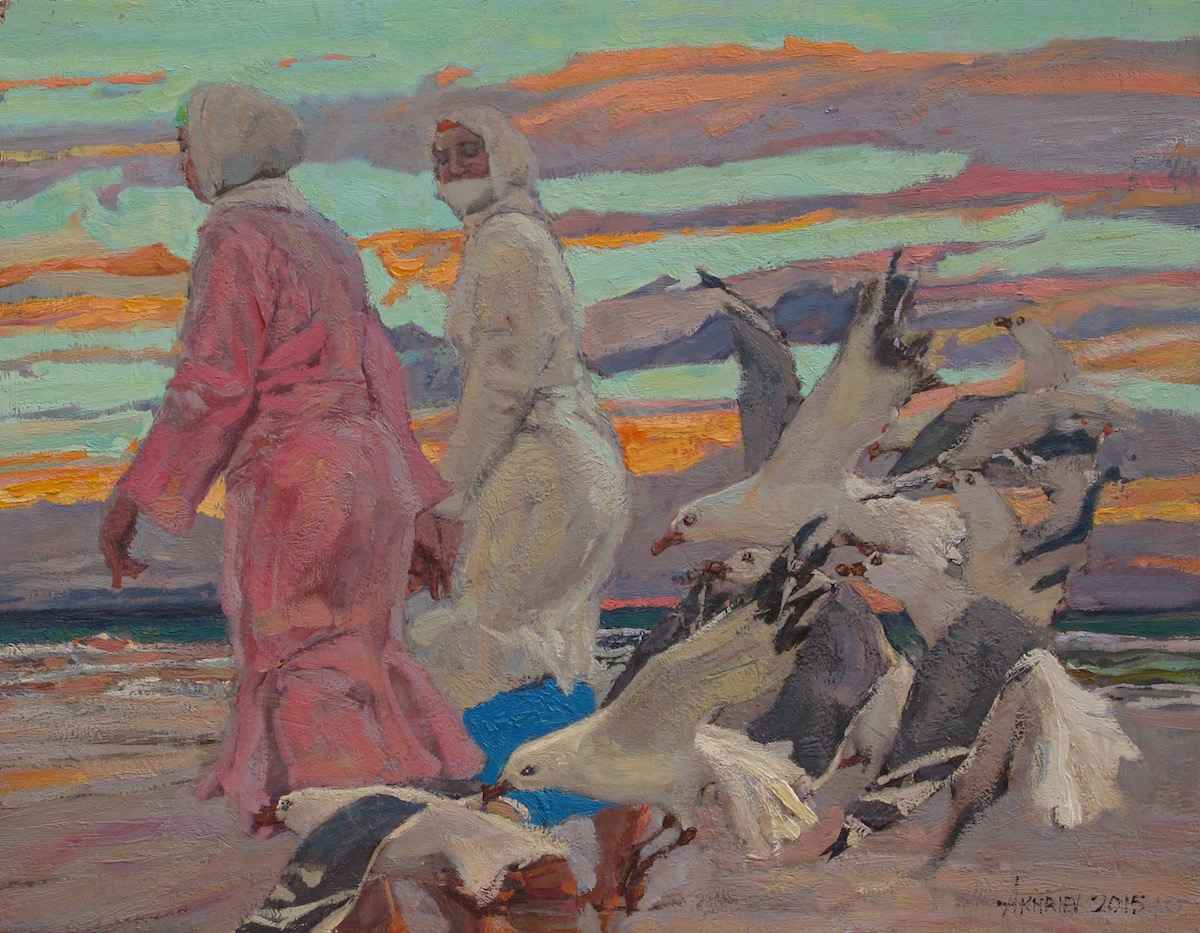 Essaouira Women by  Daud Akhriev - Masterpiece Online