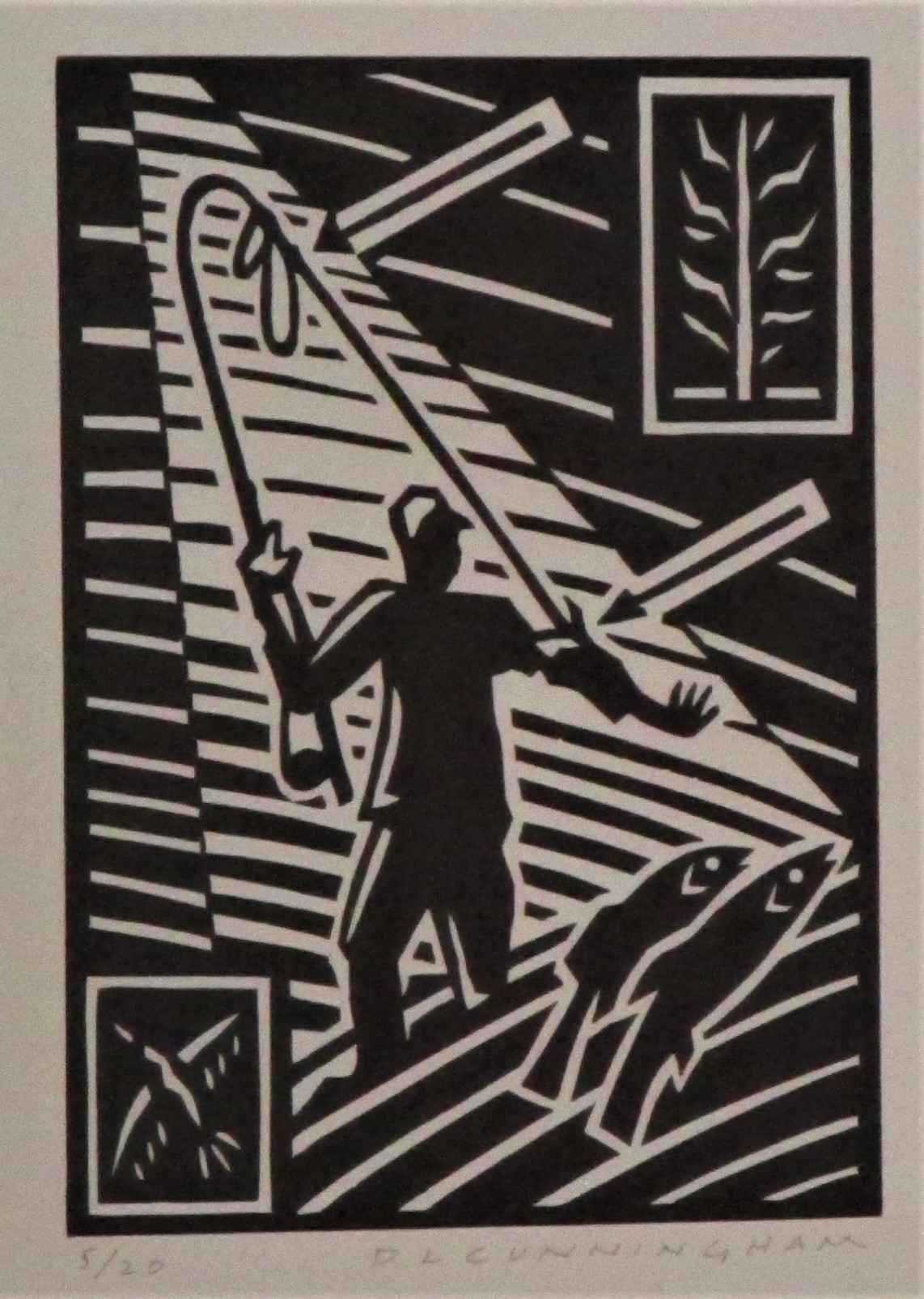 Untitled ( fishing) by  Dennis Cunningham - Masterpiece Online