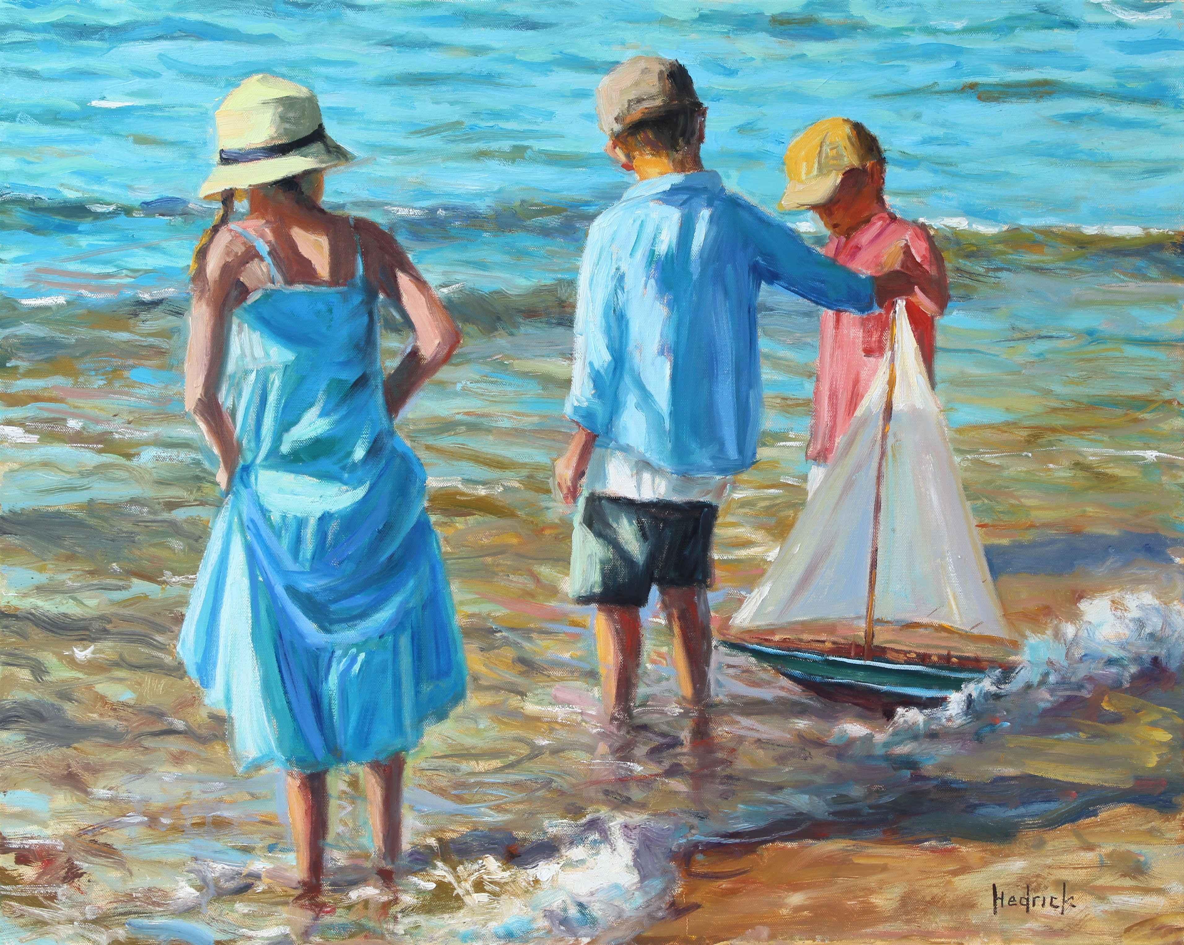Three Sailors  by  Ron Hedrick