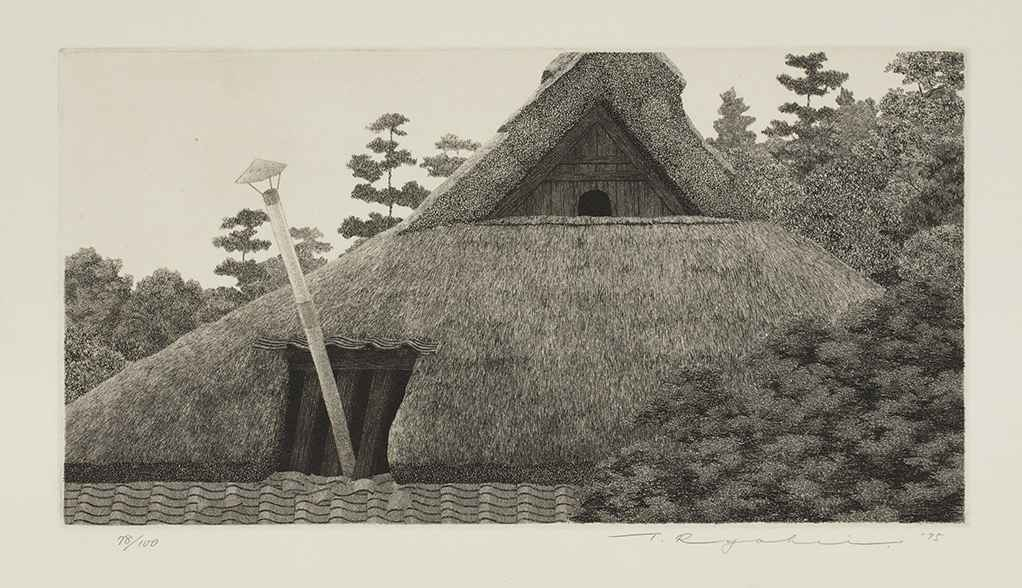 Roof with Chimney by  Ryohei Tanaka - Masterpiece Online