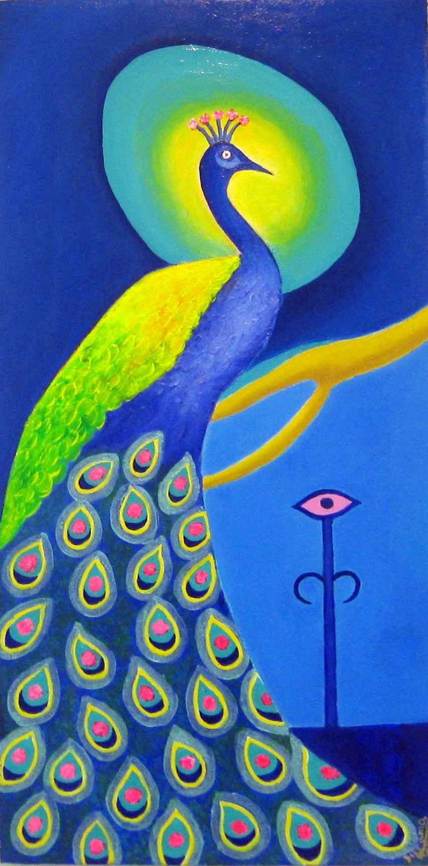 Peacock Portal 2 by Ms Malva Lewis - Masterpiece Online