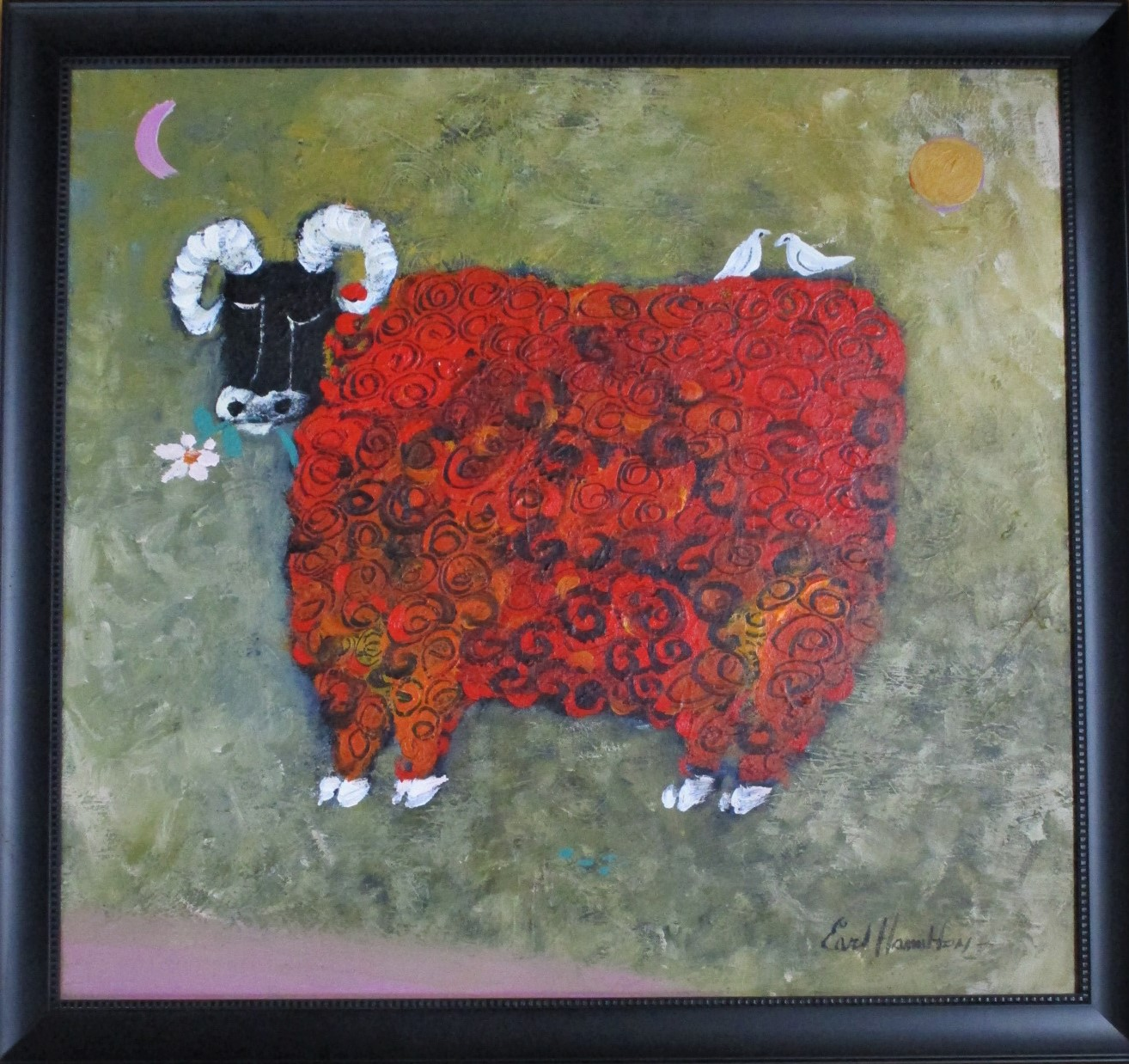 Unknown (Red Lamb) by  Earl Hamilton - Masterpiece Online