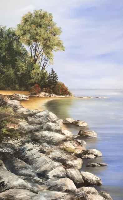 Thornbury Waterfront by  Janet Liesemer - Masterpiece Online