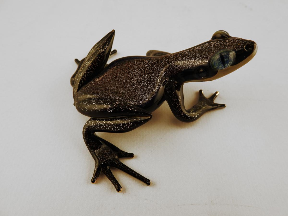 Frog/Purple Dichro by  Scott Bisson - Masterpiece Online