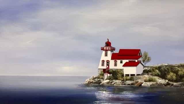 Keeping Watch At Stra... by  Janet Liesemer - Masterpiece Online