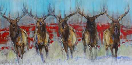 Sagebrush and Antlers represented by  by  Amy Lay