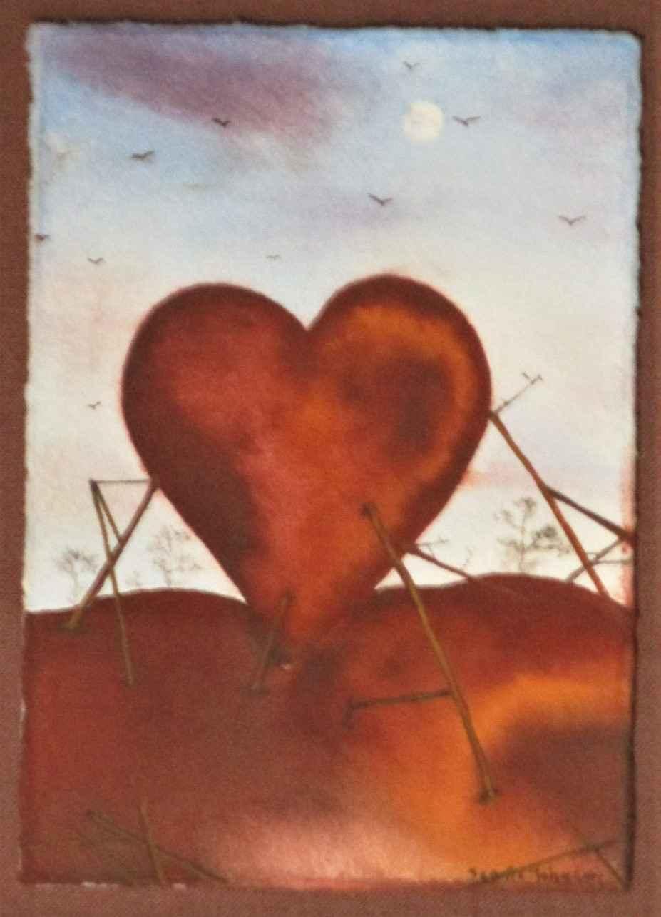 Unknown ( heart) by  Scott C. Johnson - Masterpiece Online