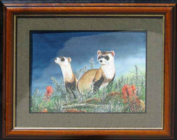 Blackfooted Ferrets by  Paul Twitchell - Masterpiece Online
