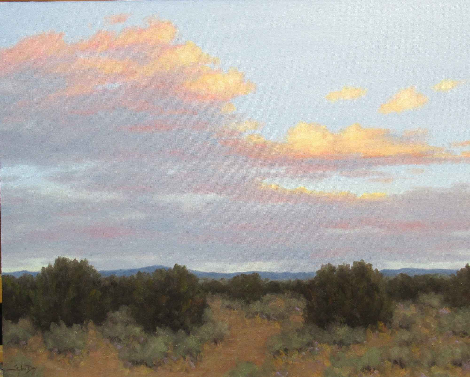 Evening - Looking East by  Stephen Day - Masterpiece Online
