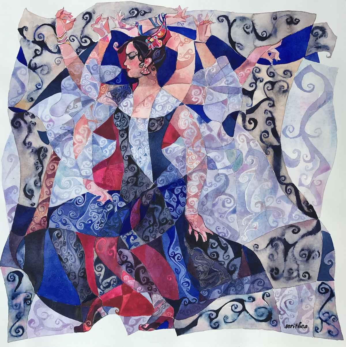 Sevillana Medium Wrap by  Daud Akhriev - Masterpiece Online