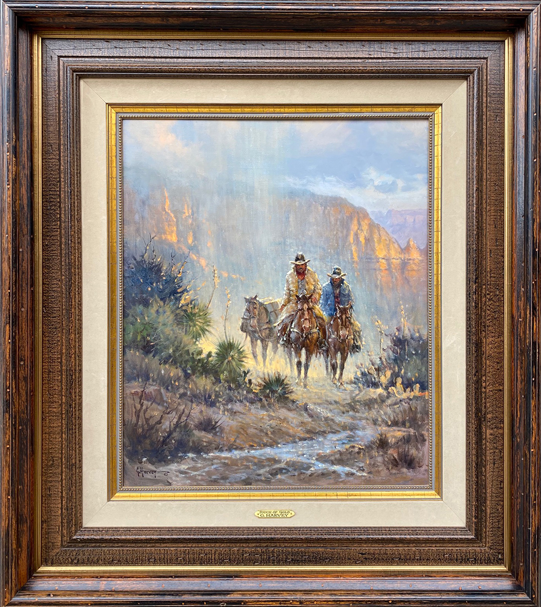 Touch Of Gold (RS) by  G. Harvey - Masterpiece Online
