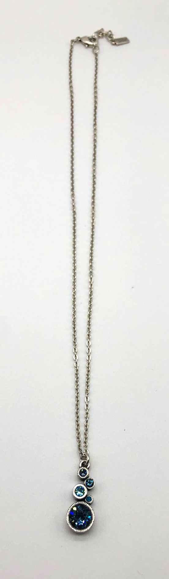 Encore Necklace in Silver, Bermuda