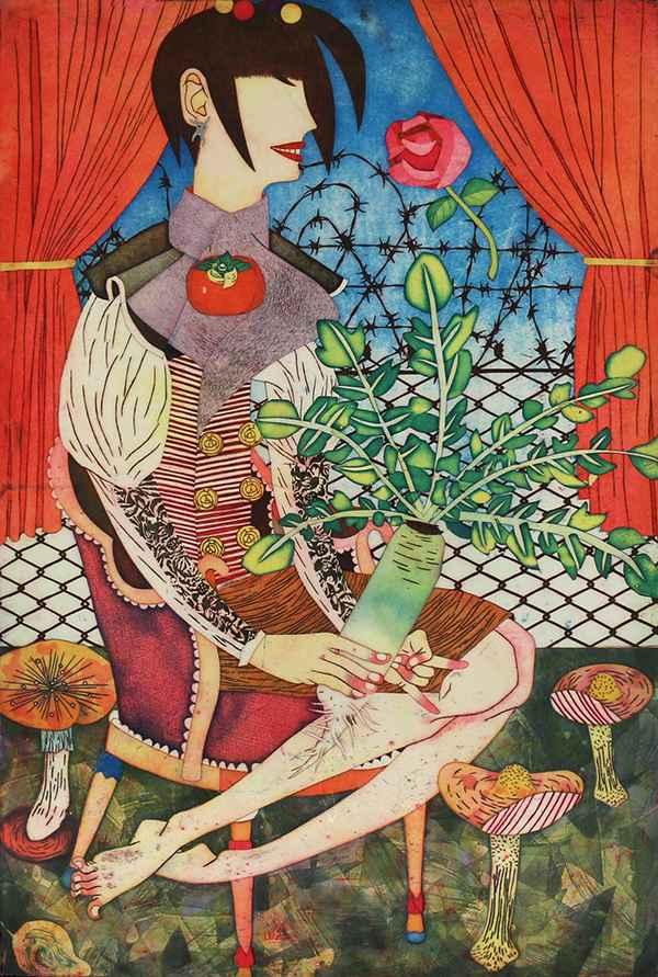 Queen Aggie Daikon by  Yuji Hiratsuka - Masterpiece Online