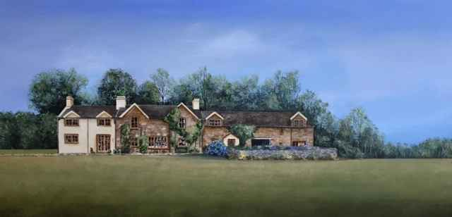 The Welsh Manor by  Janet Liesemer - Masterpiece Online