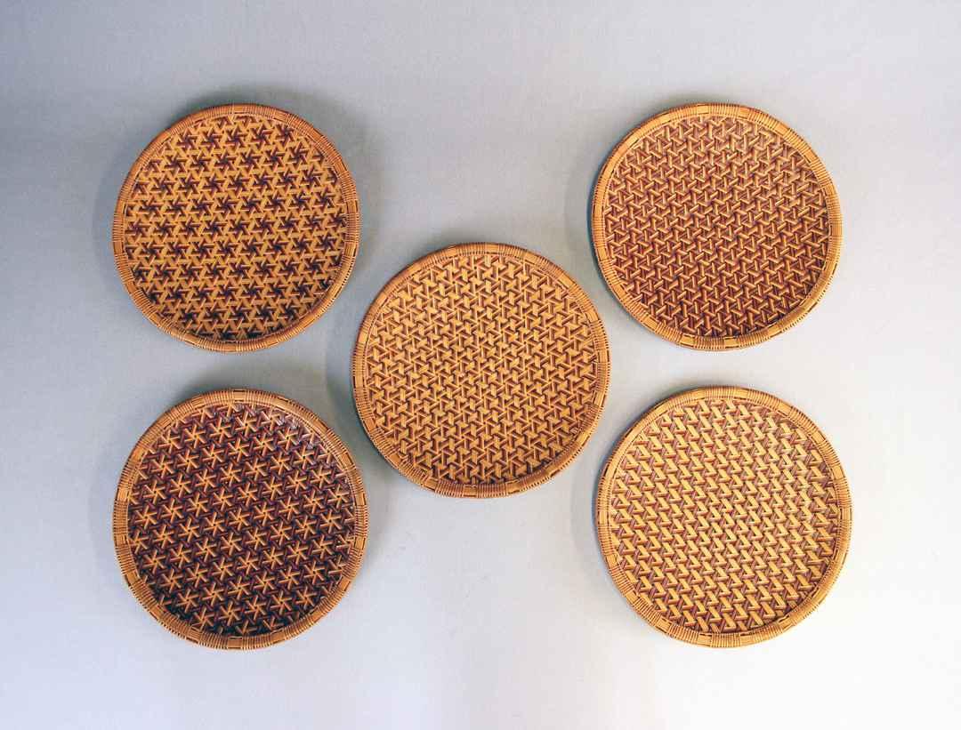 Tessen-ami tray set