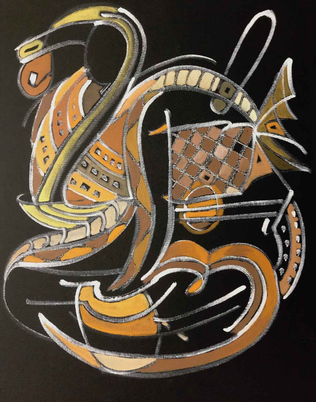 Indigenous Seven  by  Jane Mayer