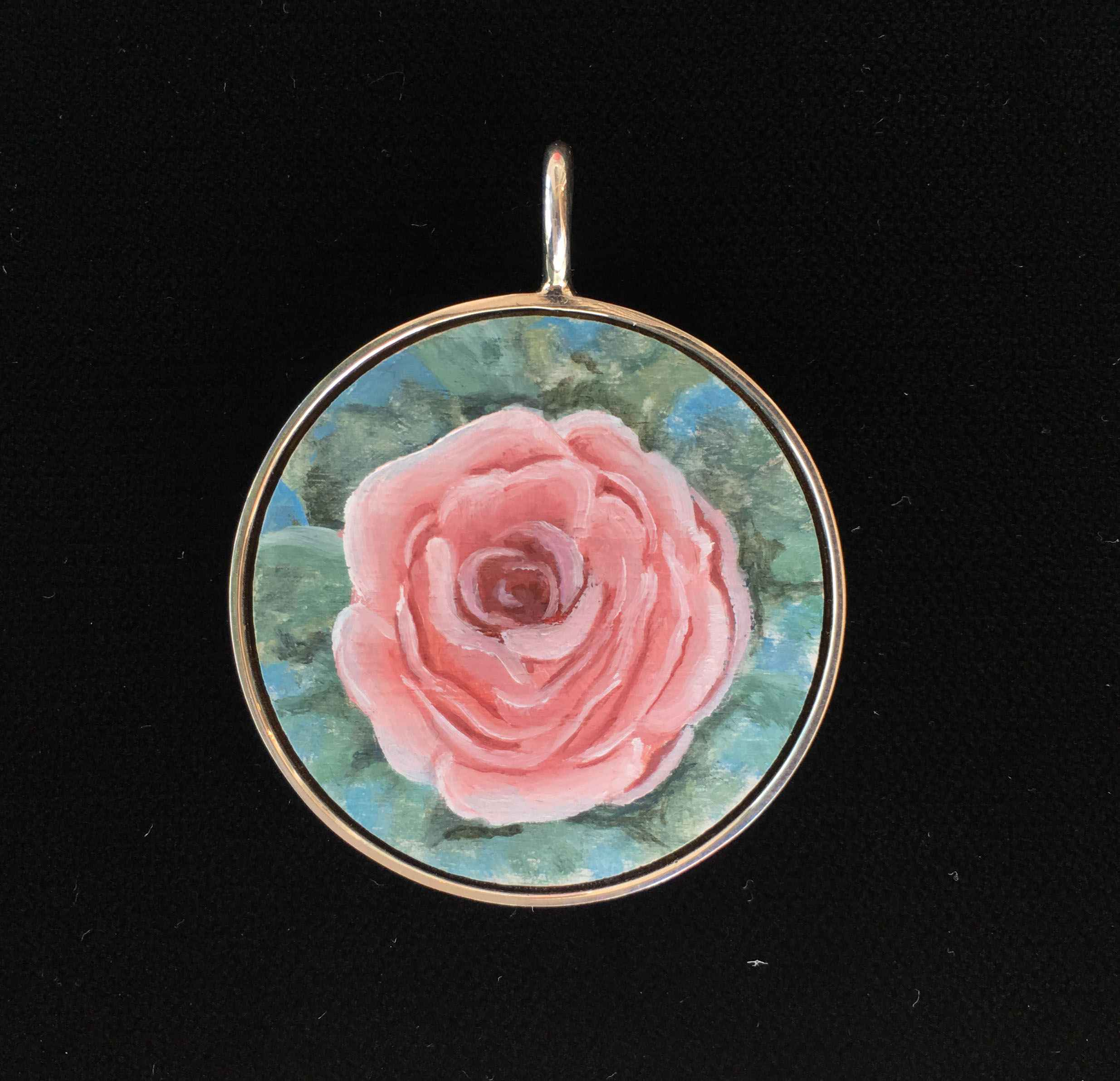#208 Large Circle- Ro... by  Nell Mercier - Masterpiece Online