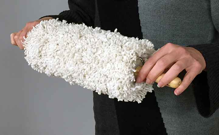 Mop Rolling Pin by  Melissa Dorn - Masterpiece Online