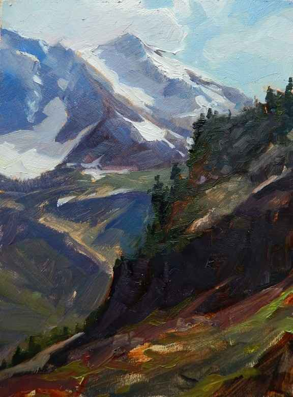 Mt. Shuksan from Arti... by  Robin Weiss - Masterpiece Online