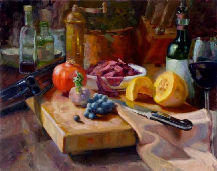 Still Life with Winch... by  Kim Carlton - Masterpiece Online